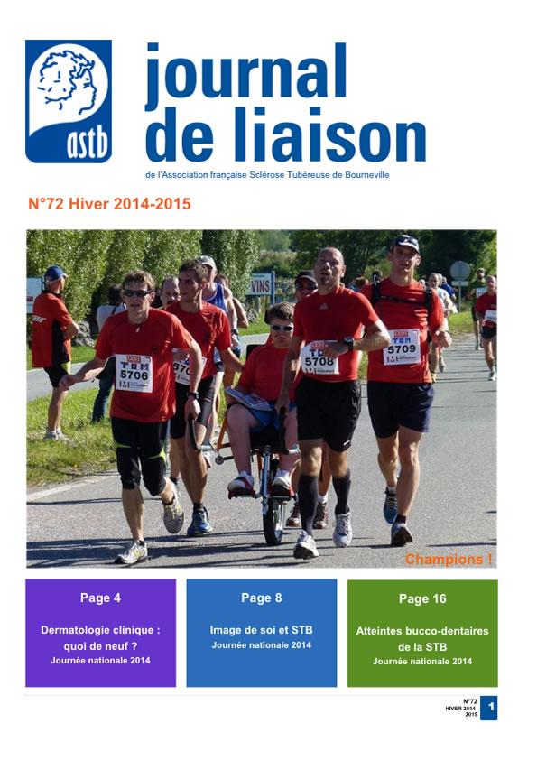 Journal de liaison n°72 – Hiver 2014-2015