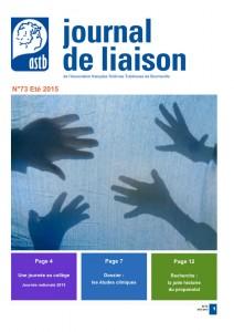 Journal de liaison N°73 – été automne 2015