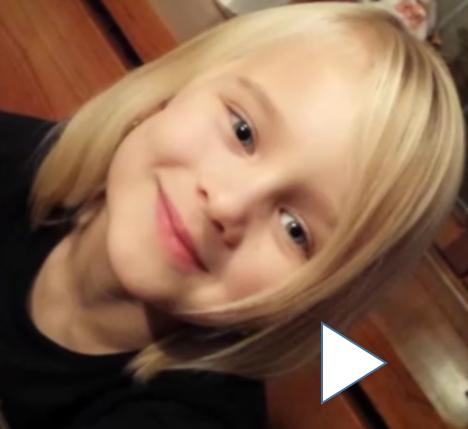Rose, 6 ans, a un message pour vous (30 sec)