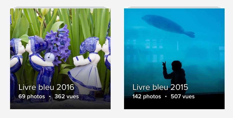 Dernières éditions du Livre bleu
