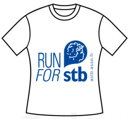 Mini Tshirt Blanc run for