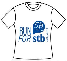 Mini Tshirt Blanc run for