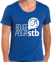 Mini Tshirt Bleu bouge pour
