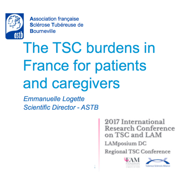 The TSC Burdens in France for Patients and Caregivers