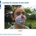 Mon masque avec l'ASTB