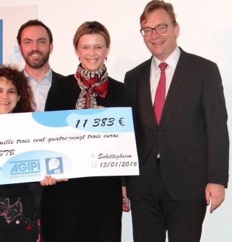 AGIPI fait un don de 11300€ à l'ASTB