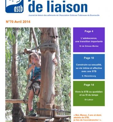 Journal de liaison 70 – Avril 2014