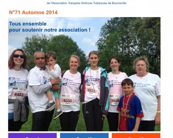 Journal de liaison n°71 – Autonme 2014