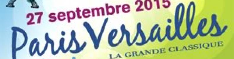 Course Paris-Versailles en Joélette avec un enfant porteur de la STB