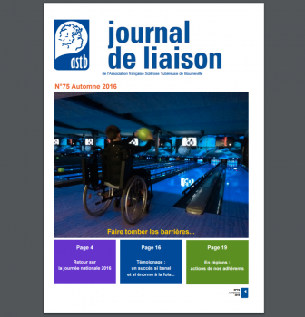 Journal de liaison ASTB N°75 – second semestre 2016