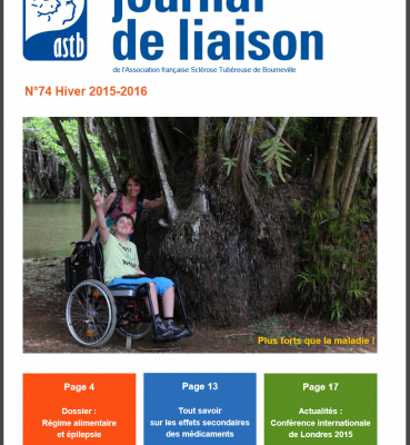 Journal de liaison ASTB N°74 – 1er semestre 2016