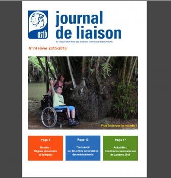 Journal de liaison ASTB N°74 – premier semestre 2016